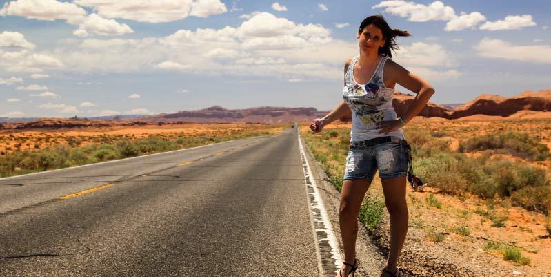 ¿Qué dice la ley sobre hacer autostop?