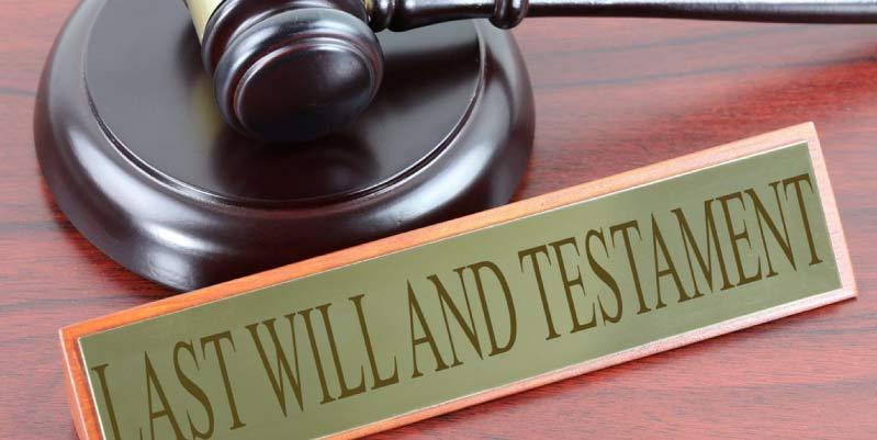 como hacer un testamento ejemplos